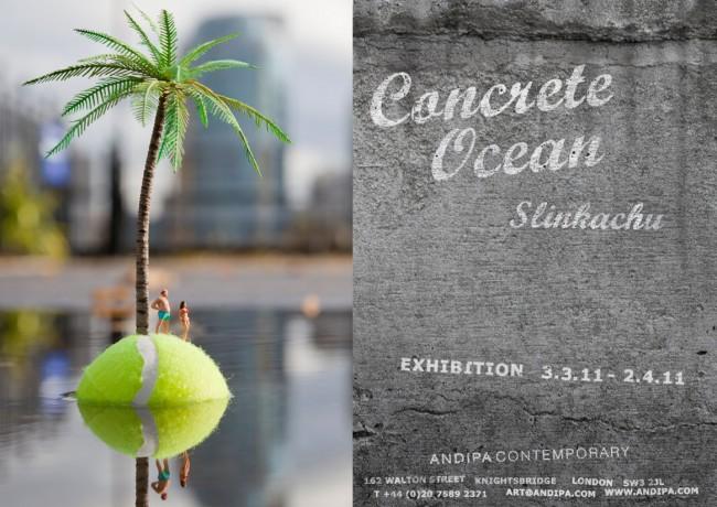 Slinkachu Concrete Ocean