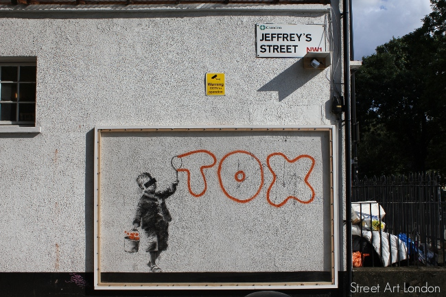 Banksy Tox CCtv camera webcam