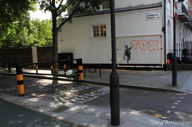 Banksy perspex