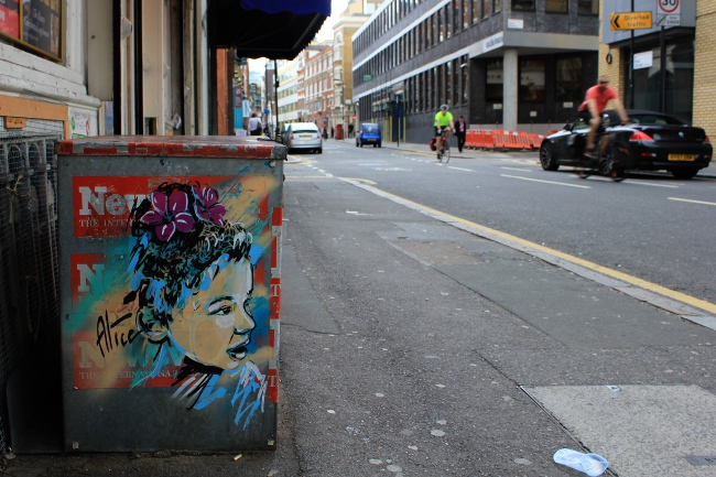 C215 & Alice Pasquini Street Art in London