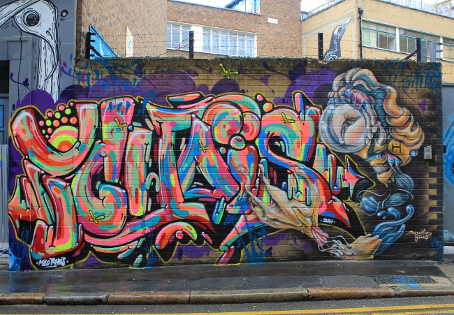 Milo Tchais street artist interview Street Art London