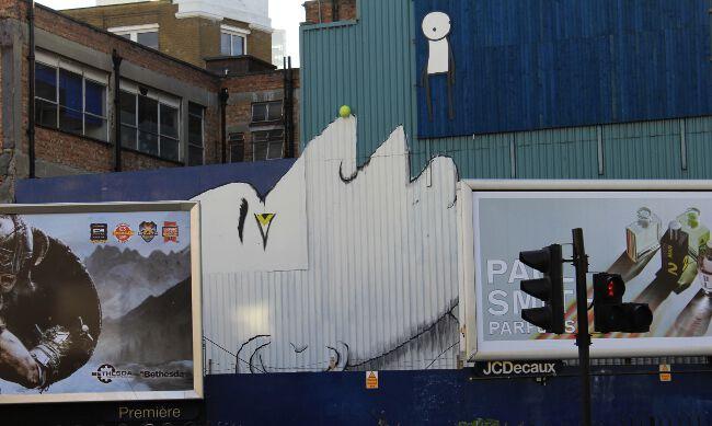 RUN street art