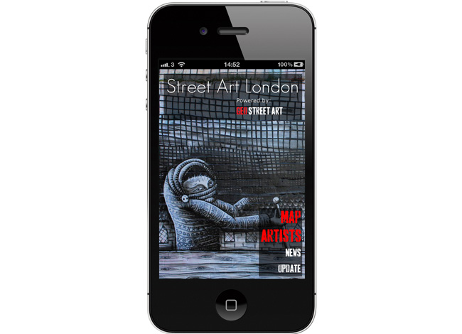 Street Art London iPhone App