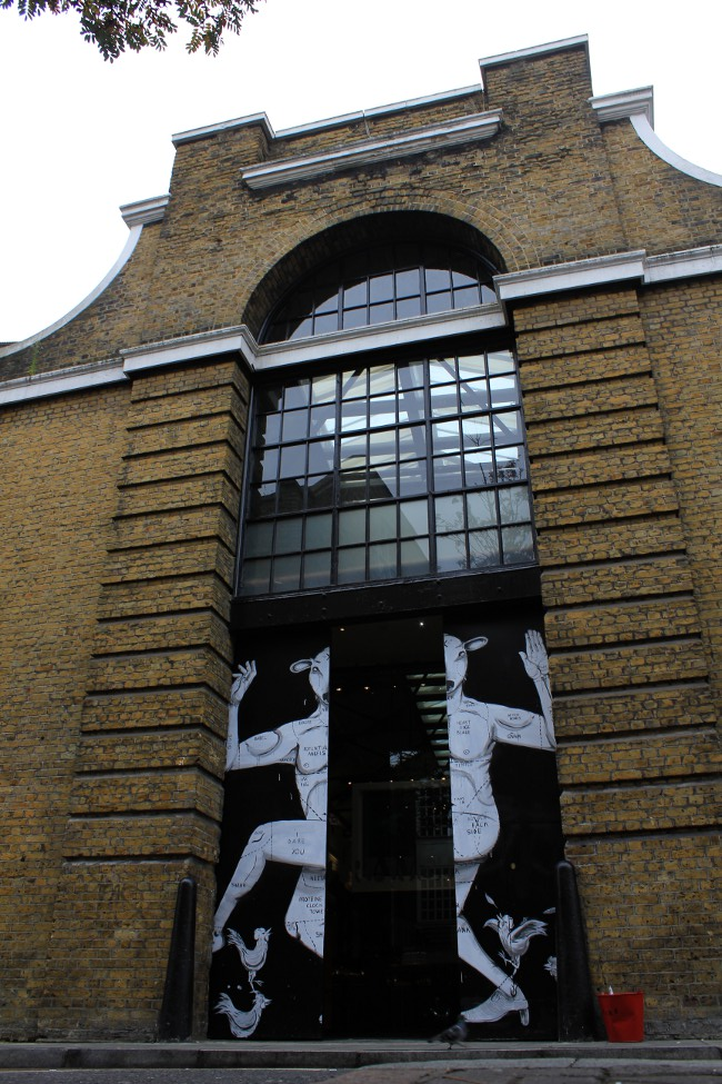 RUN Street Art at Tramshed London