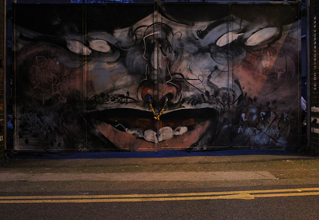 Lister street art in London