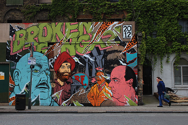 Borken Fingaz Crew Hackney Road