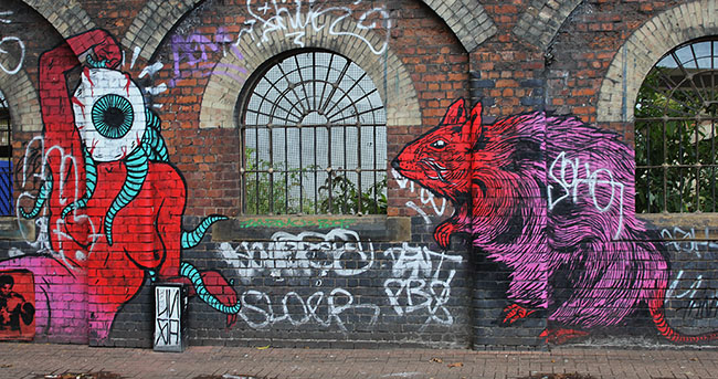 Broken Fingaz Crew Sclater Street