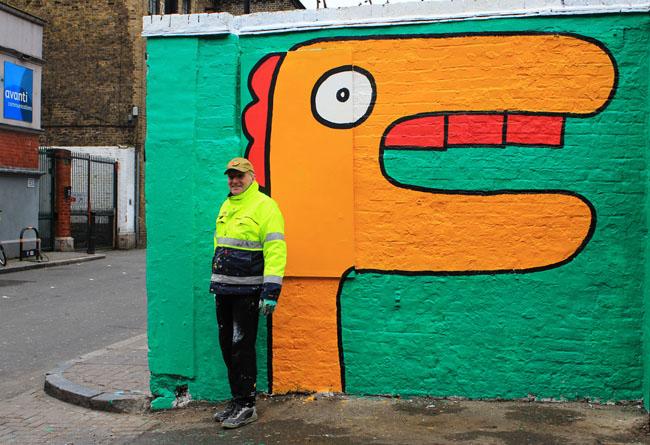 Dulwich-Street-Art-Festival-Christiaan NagelThierry Noir