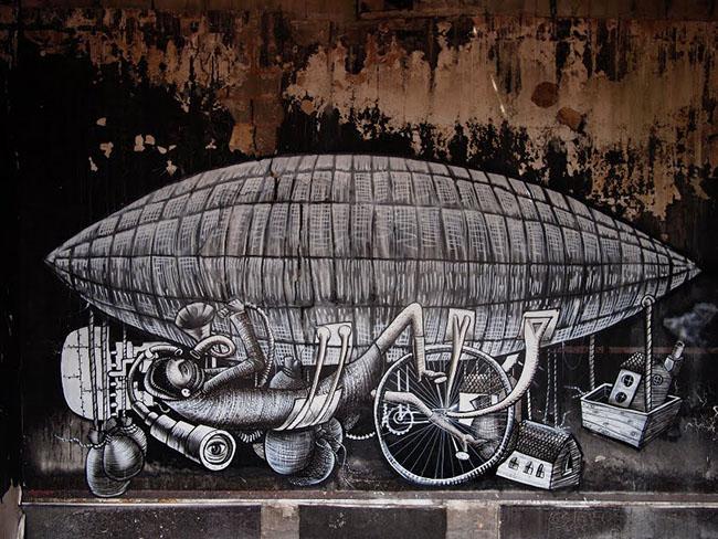 Dulwich-Street-Art-Festival-Phlegm2