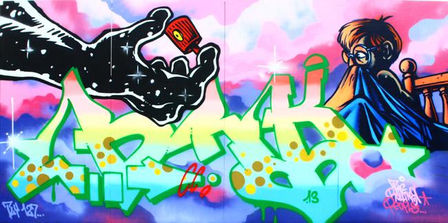 BRK Graffiti