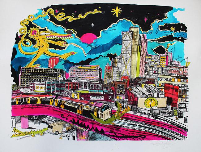 Show by artist John Dolan