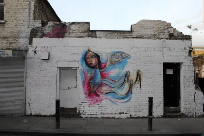 Julian Kimmings, Street Artist