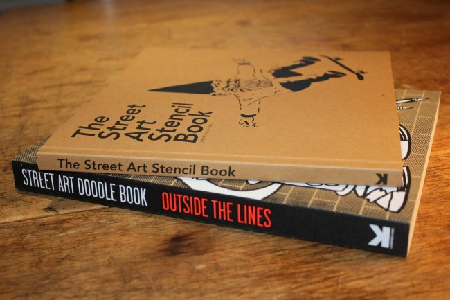 Street Art Stencil Book