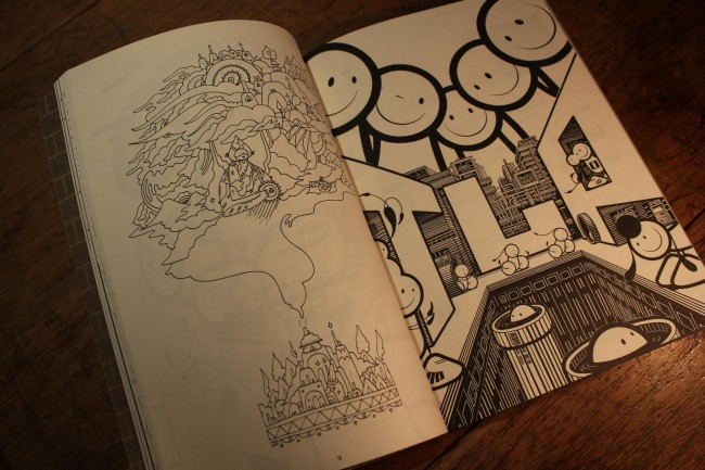 Street Art Doodle Book