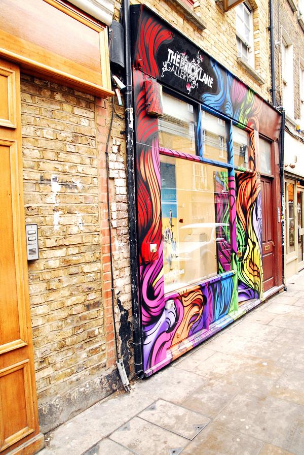 Brick Lane Gallery Dead Drop
