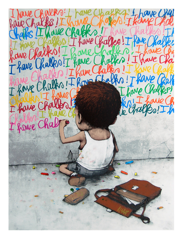 Dran I have Chalks POW Gallery