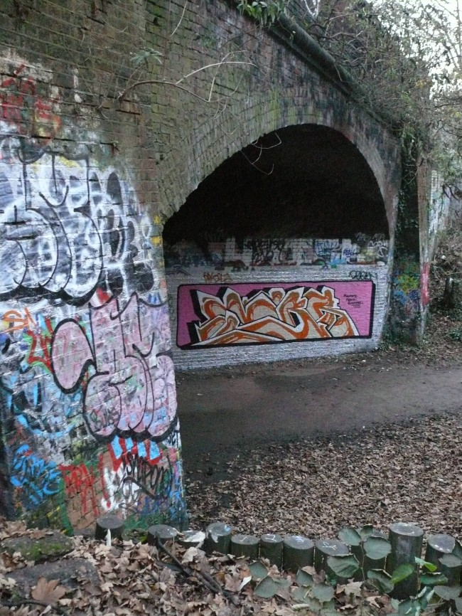 Parkland Walk Street Art North London