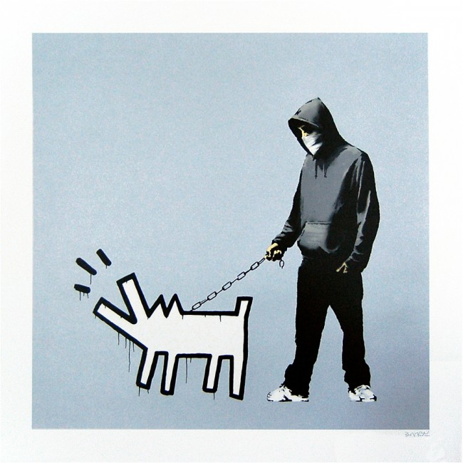 Bansky Choose Your Weapon Print