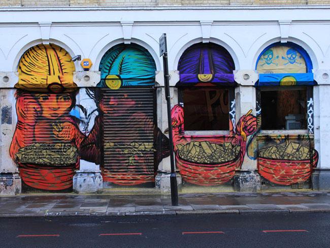 London street art tours from street art london gallery for Minimal art gallery london